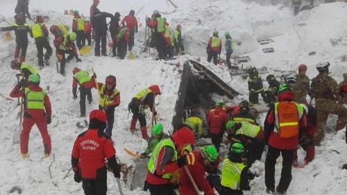 Rigopiano, 23 indagati per la strage